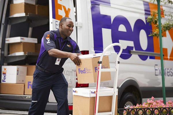 FedEx drop-off and pickup