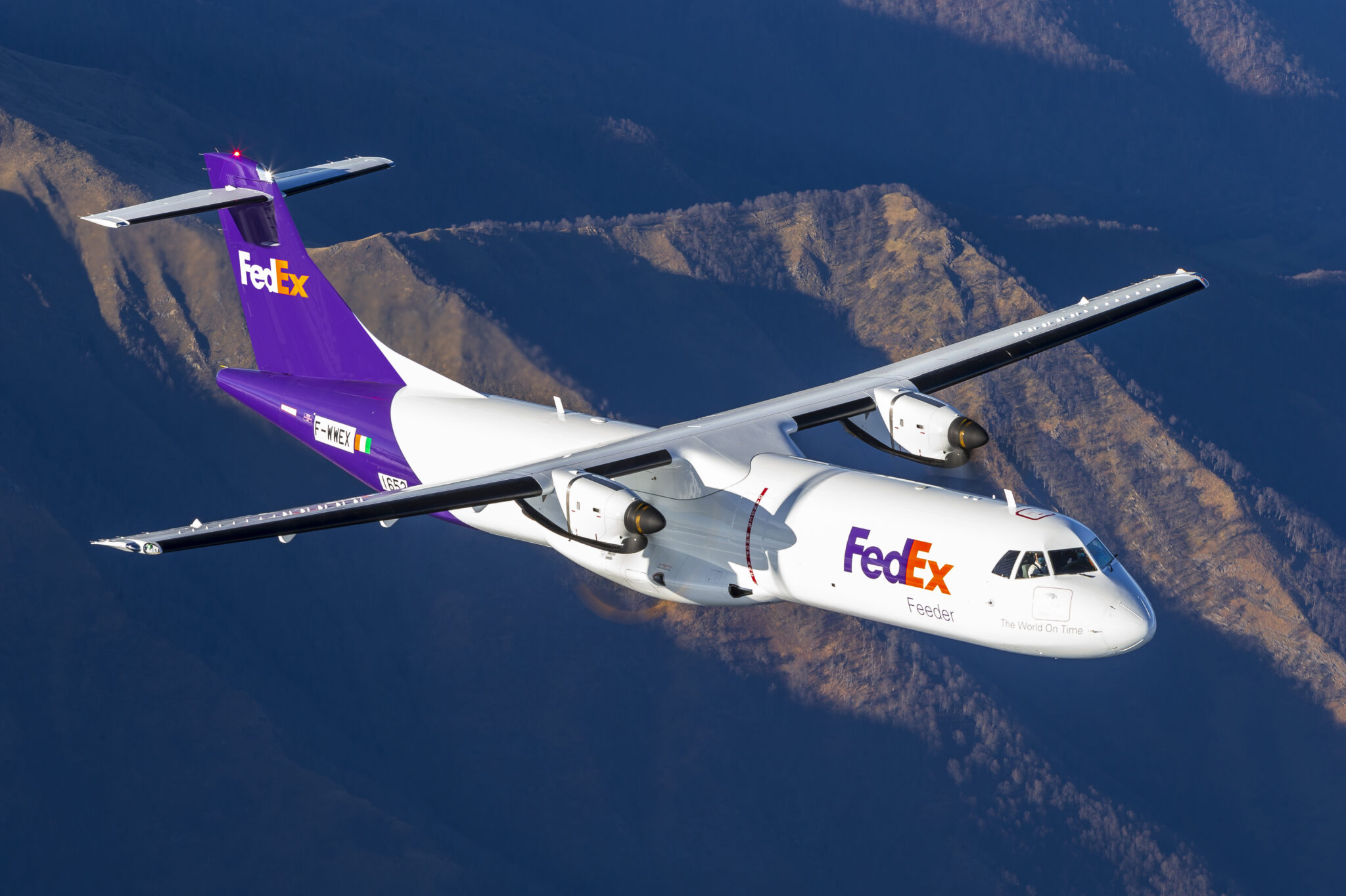 FedEx Express Further Modernises Fleet With Delivery of First Purpose-Built Regional ATR Freighter